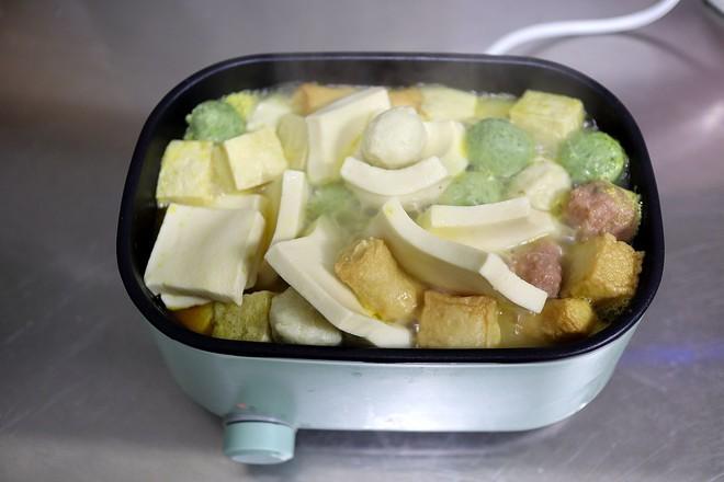 金汤白菜豆腐鱼丸怎么做