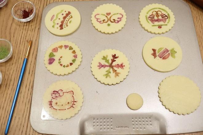 印花饼干怎样做