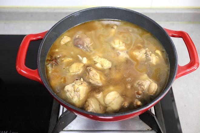 小鸡炖蘑菇怎么煮