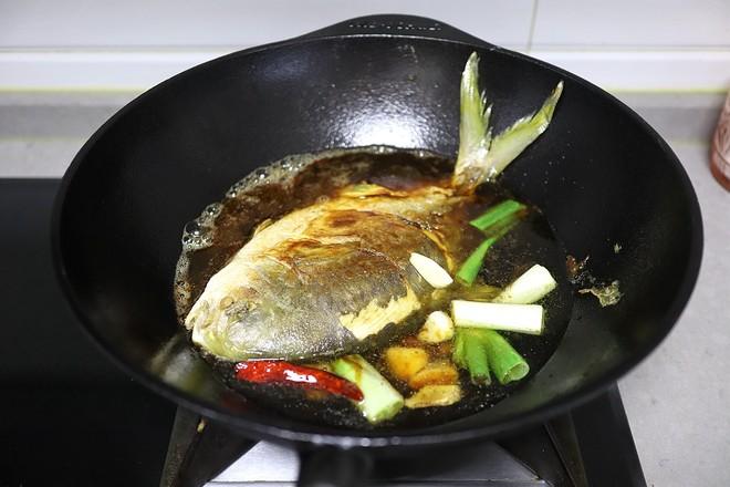 红烧金鲳鱼怎么炖