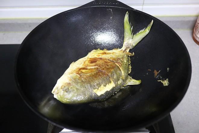 红烧金鲳鱼怎么炒