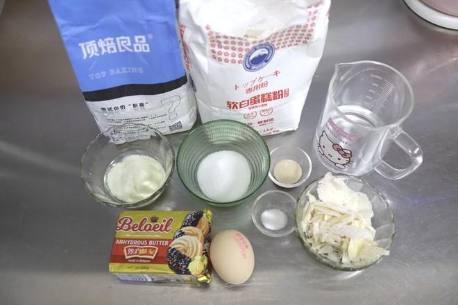 卡仕达酥粒面包的步骤