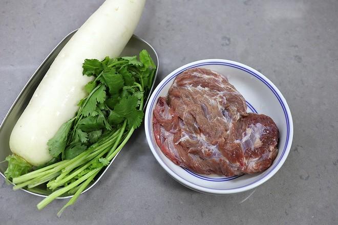 萝卜羊肉丸子汤的做法大全