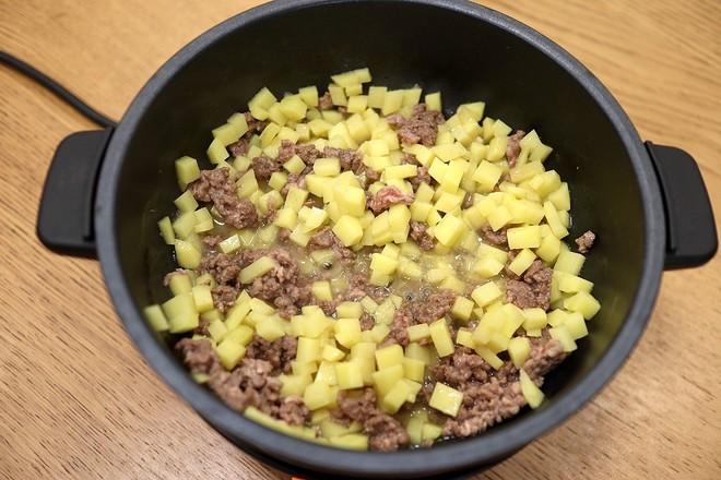 咖喱牛肉金黄包&咖喱牛肉夹心面包的简单做法