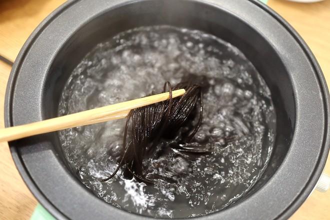 凉拌酸辣蕨粉的做法图解