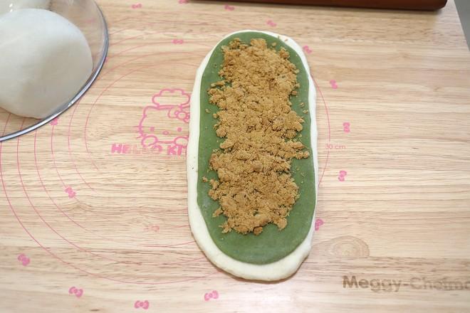 抹茶麻糬肉松豆沙吐司怎样炒