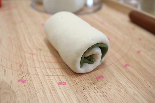 抹茶麻糬肉松豆沙吐司怎样煮