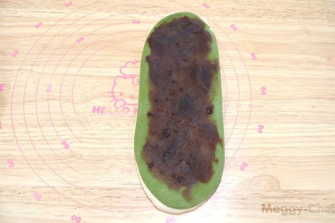 抹茶麻糬肉松豆沙吐司怎样炖