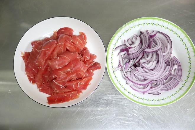 洋葱炒牛肉的做法图解