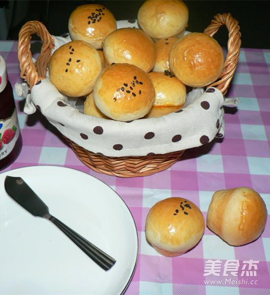 小蘑菇餐包成品图