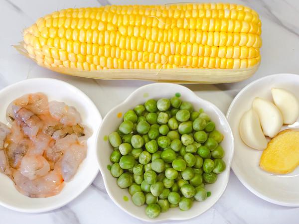 玉米豌豆炒虾仁的做法大全