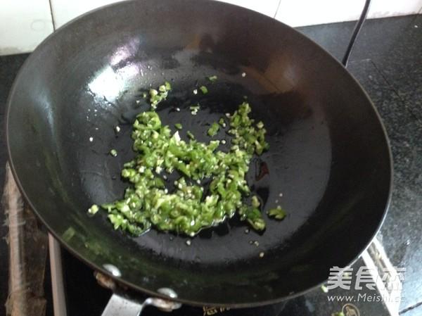 青辣椒茄子泥的简单做法