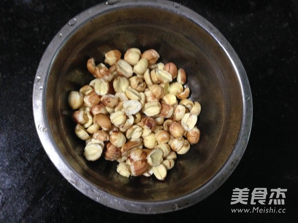 杂粮菰米粥的做法图解