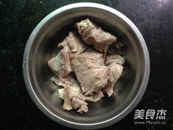红薯粉丝豆腐煲的做法图解