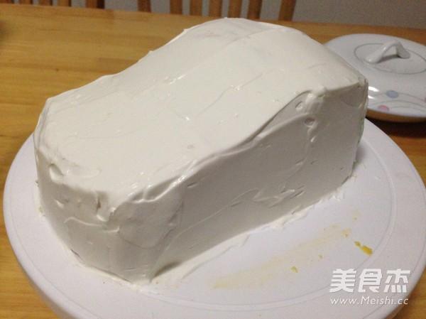 汽车生日蛋糕怎么煮