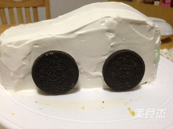 汽车生日蛋糕怎么炖