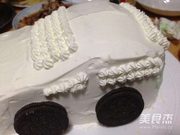 汽车生日蛋糕怎样煸
