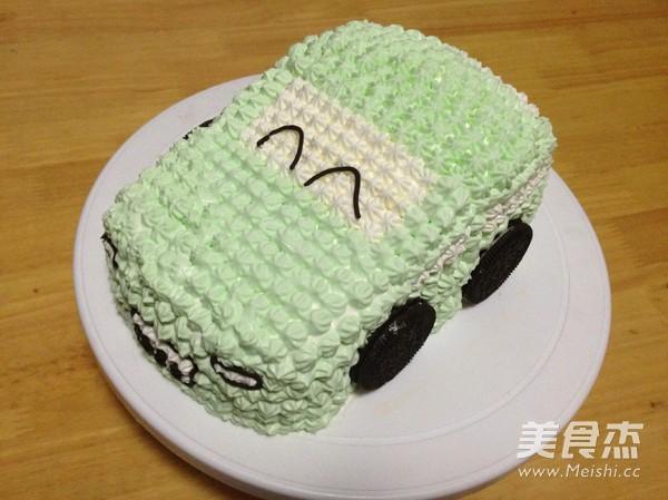 汽车生日蛋糕怎样炒