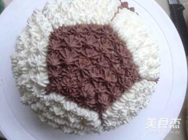 足球蛋糕怎么煮