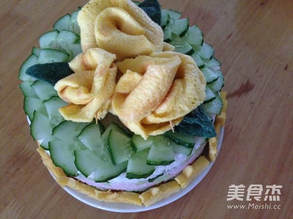 米饭生日蛋糕怎样炖