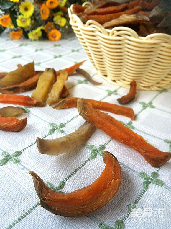 原味红薯条成品图