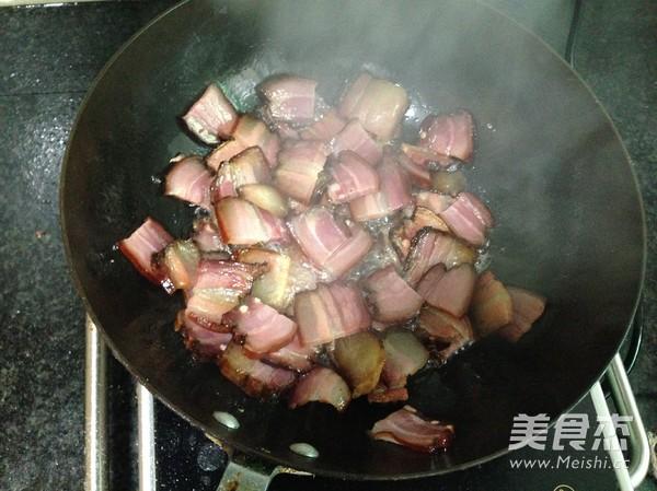 青椒炒腊肉怎么做