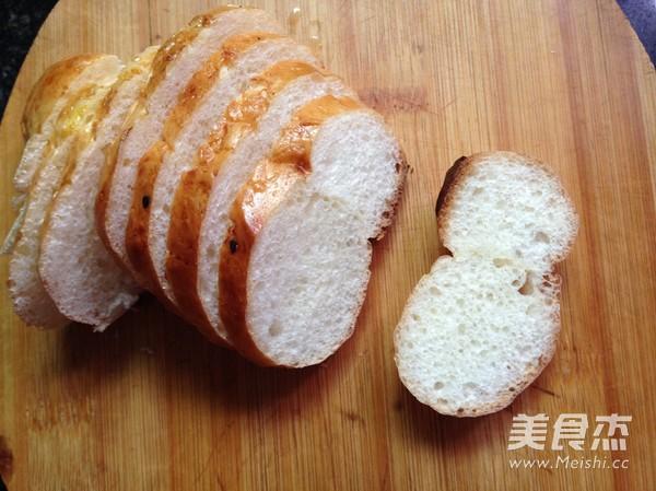 腐乳烤馒头片的家常做法
