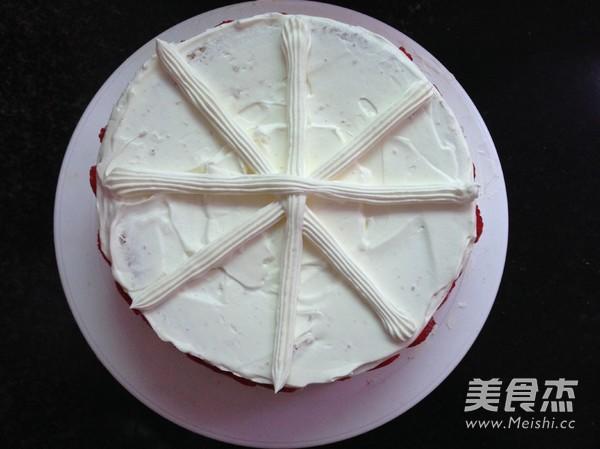 水果奶油蛋糕的步骤