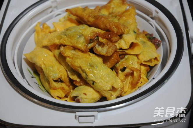 猪肉青菜鸡蛋饺怎么炒