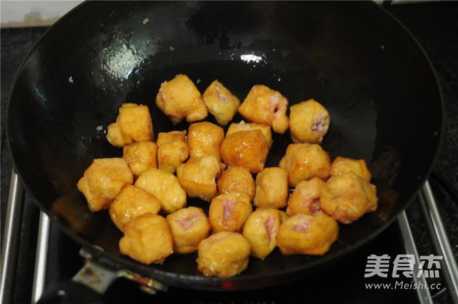 春节宴客菜——油豆腐塞肉的简单做法