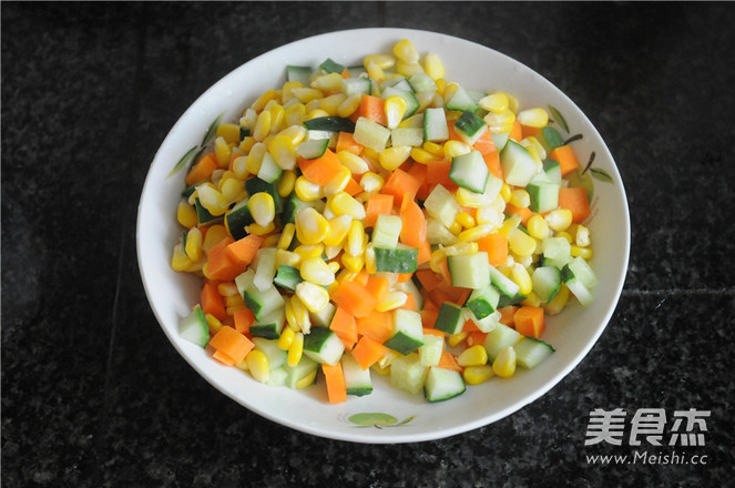 午餐肉炒蔬菜粒怎么吃
