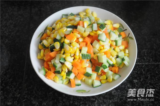五彩蔬菜粒怎么吃