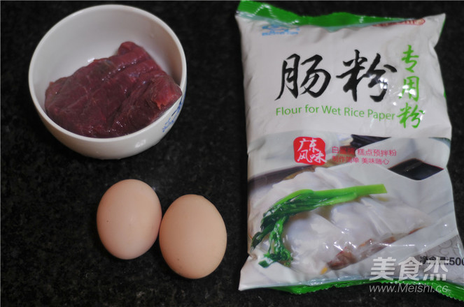 牛肉鸡蛋肠粉的做法大全