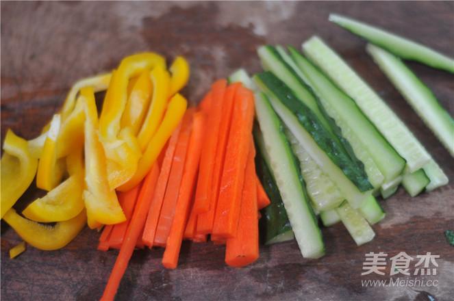蔬菜培根卷的做法图解