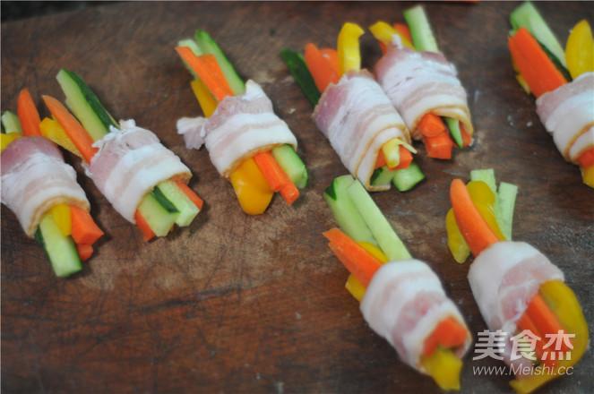 蔬菜培根卷的家常做法