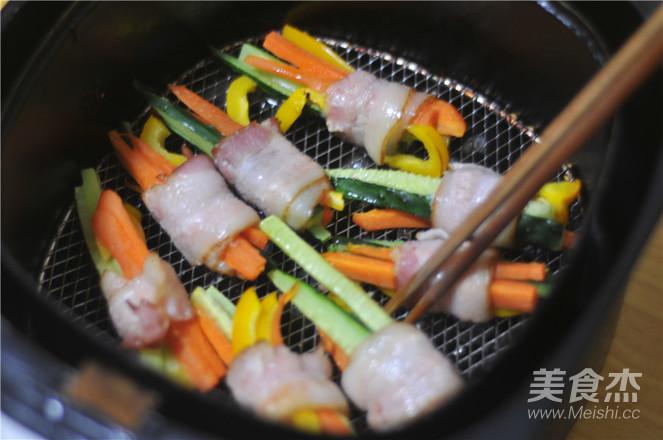 蔬菜培根卷怎么做