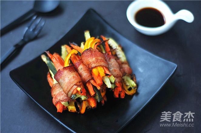 蔬菜培根卷怎么炒