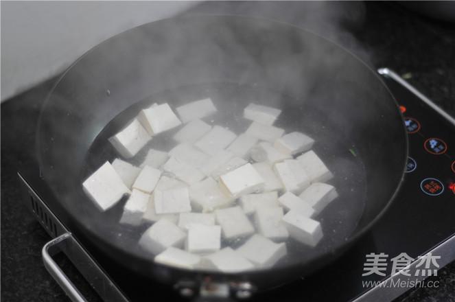 肉末豆腐的步骤