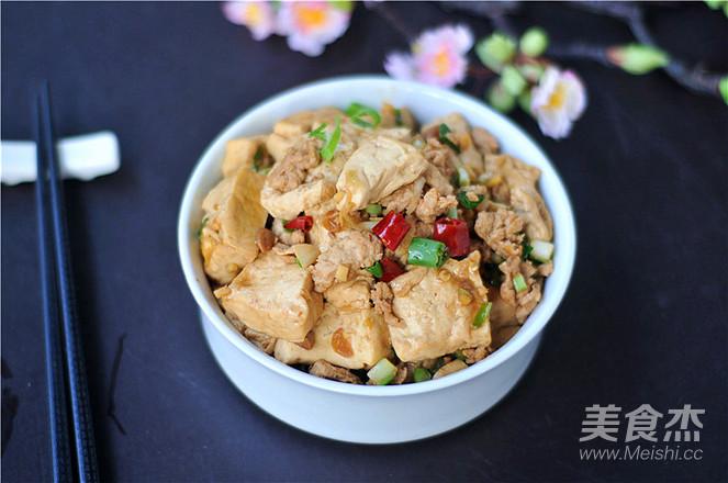 肉末豆腐成品图