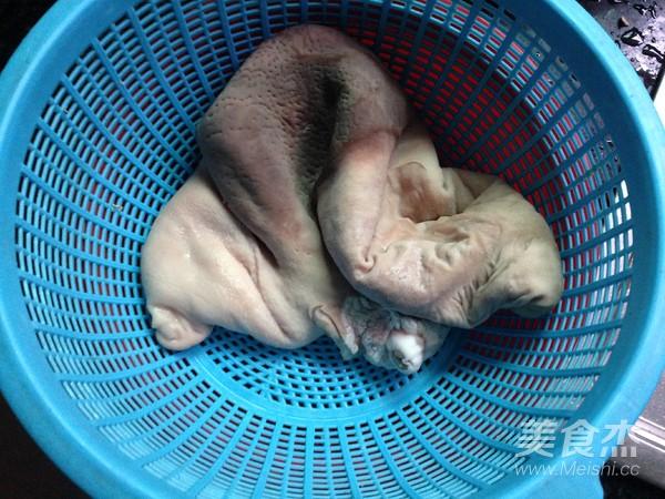 猪肚炖墨鱼的家常做法