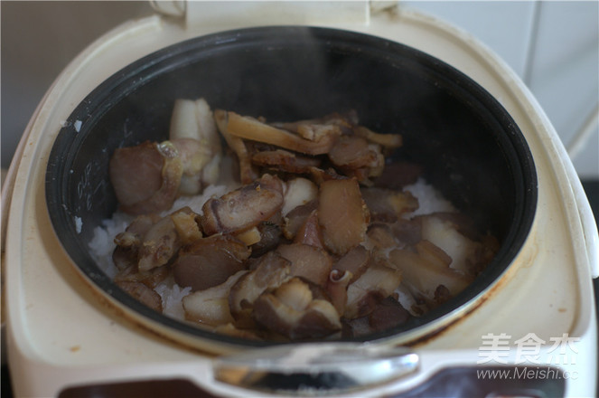 腊肉饭的家常做法
