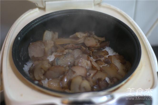 腊肉饭的简单做法