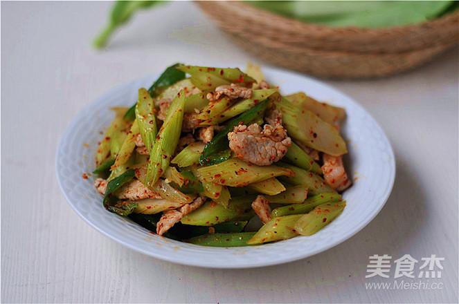 猪油炒白菜苔怎么炒