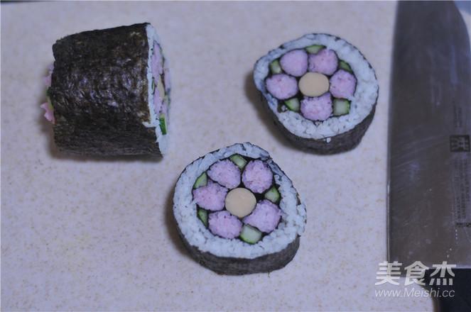 花朵寿司的做法大全