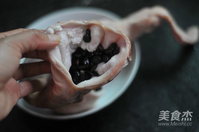 黑豆炖猪肚怎么做