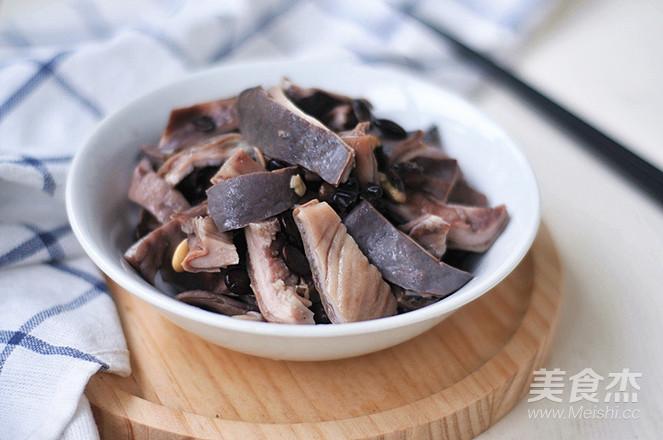 黑豆炖猪肚怎样做