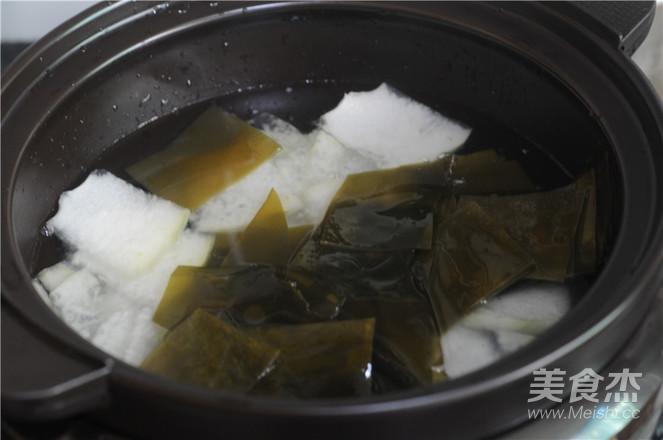 海带冬瓜汤怎么吃