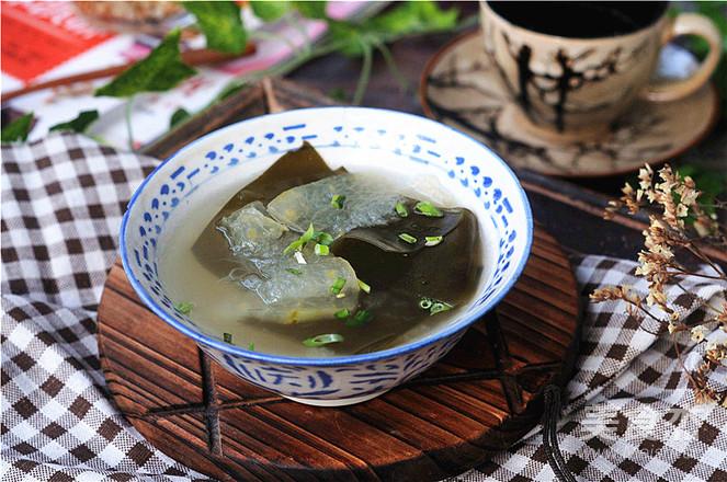 海带冬瓜汤怎么煮