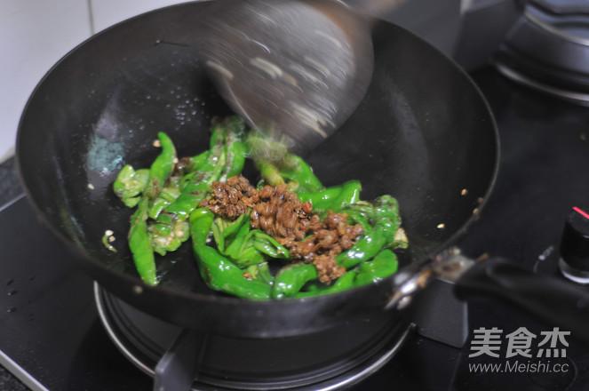 黄豆豉爆炒螺丝椒怎么做