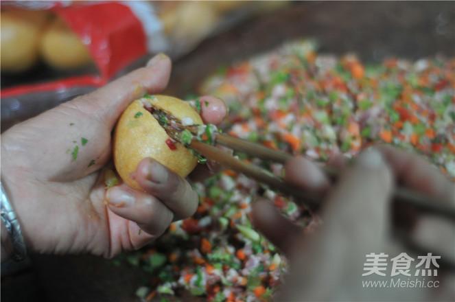 油面筋焖粉条的家常做法